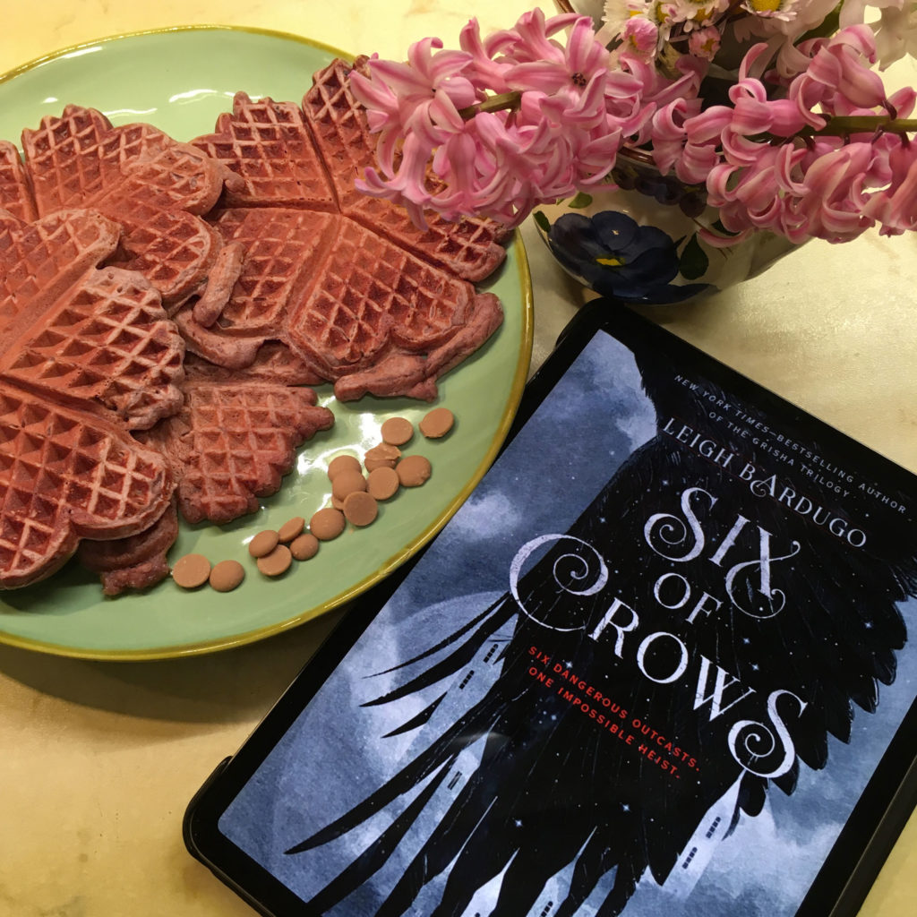 """Pink waffles di """"Sei di Corvi"""""""